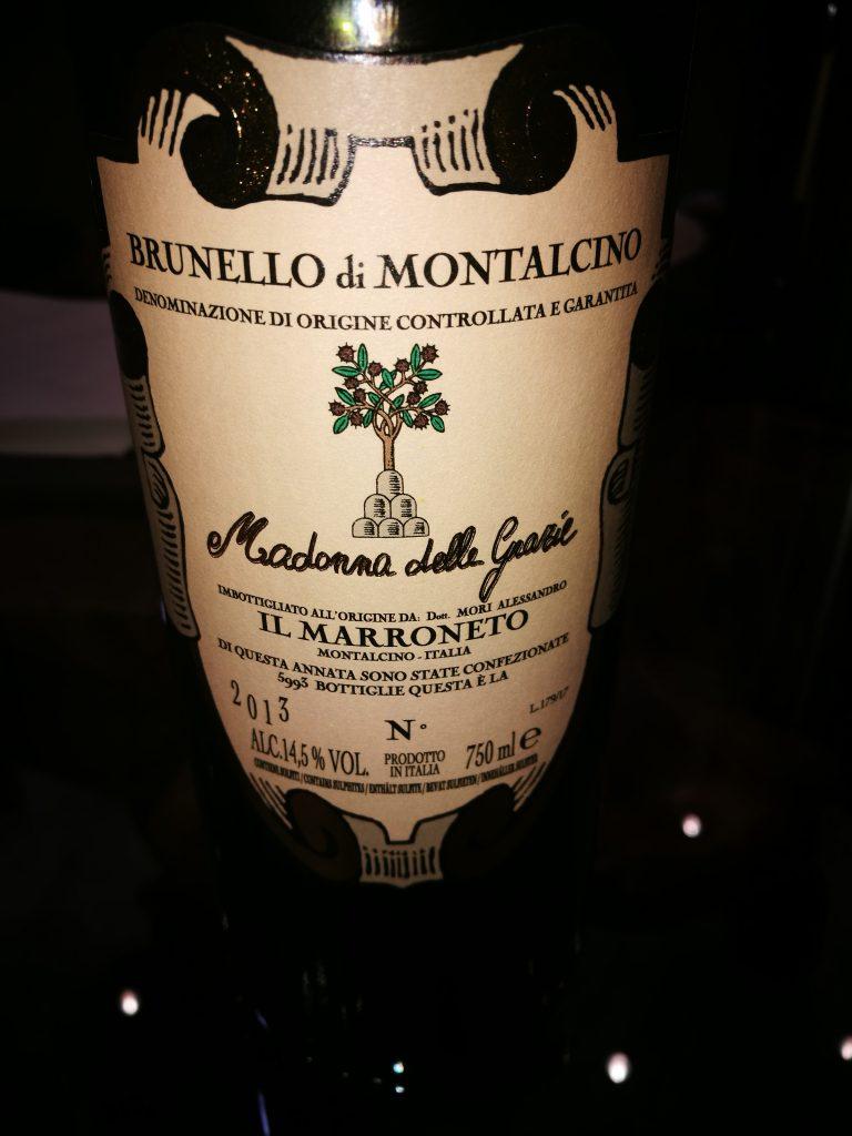 Brunello di Montalcino - Madonna delle Grazie 2013