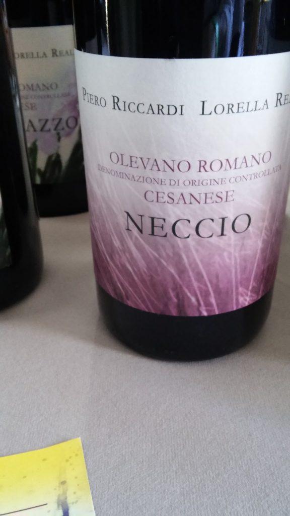 D. O. C. Cesanese di Olevano Romano - Neccio 2016