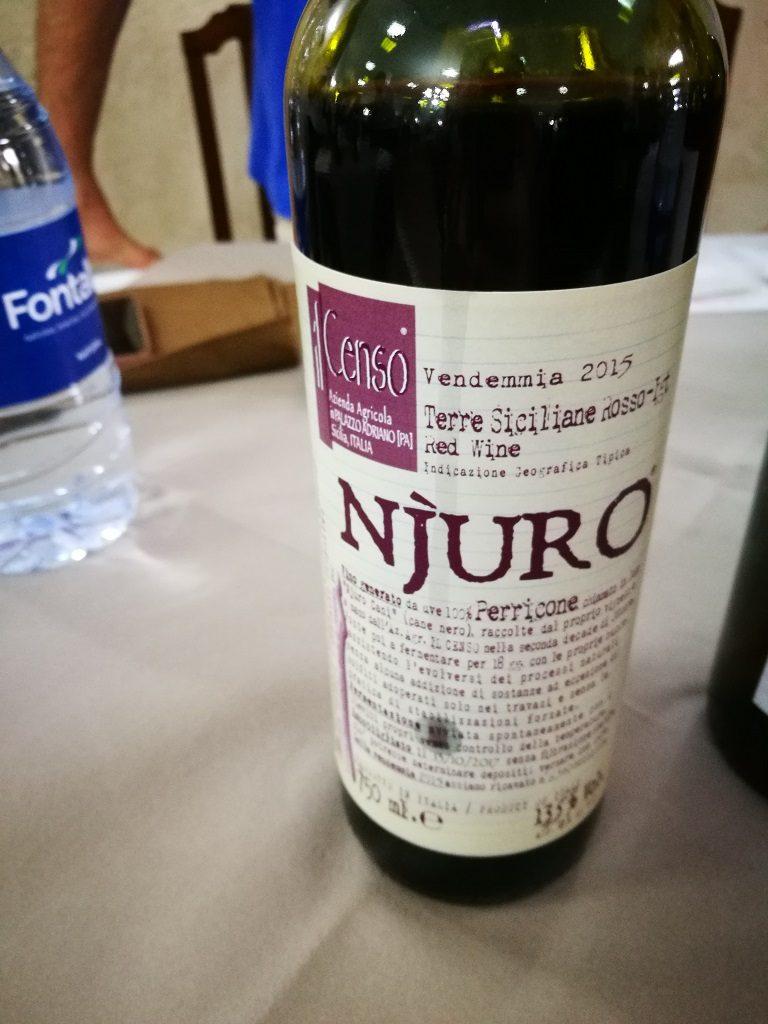 I. G. T. Terre Siciliane Rosso - Perricone Njuro 2015