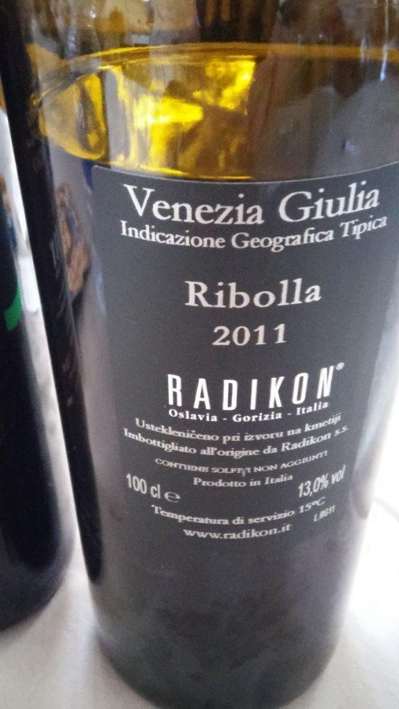 I. G. T. Ribolla Gialla Venezia Giulia - Ribolla 2011