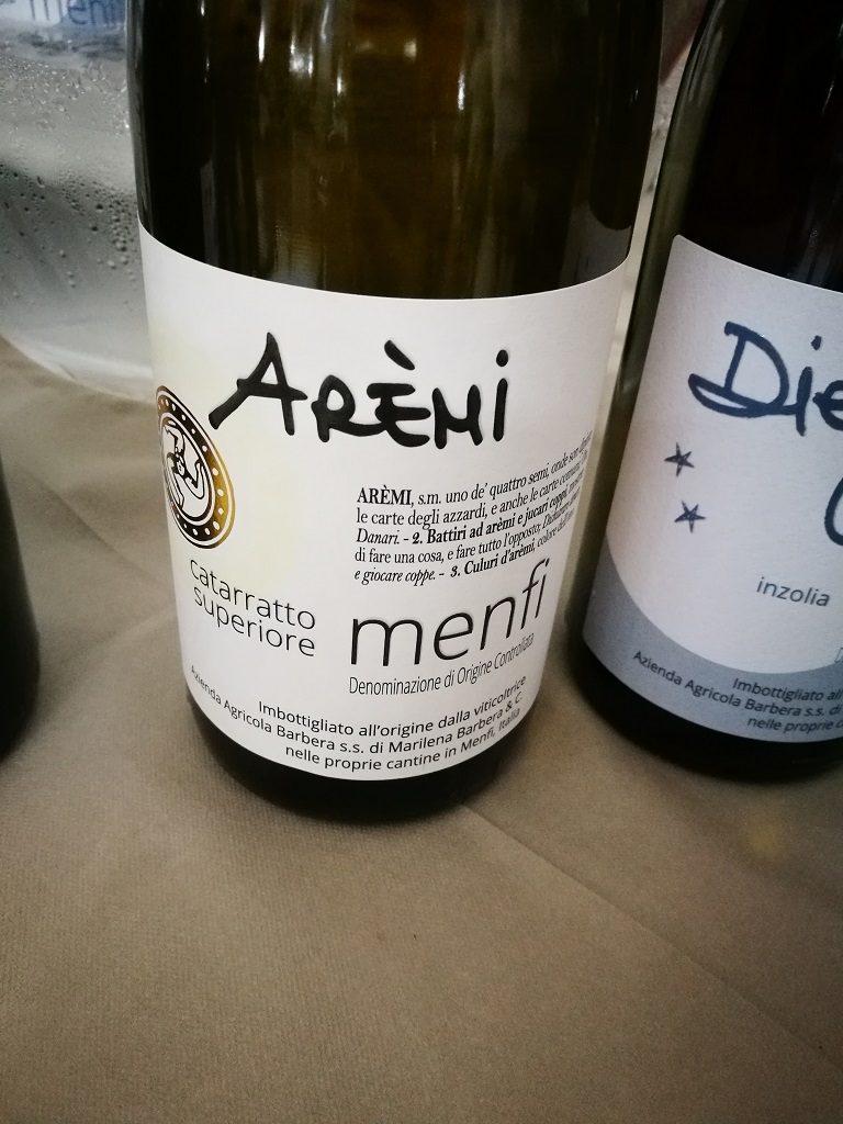 D. O. C. Menfi - Arèmì - Cataratto Superiore 2018