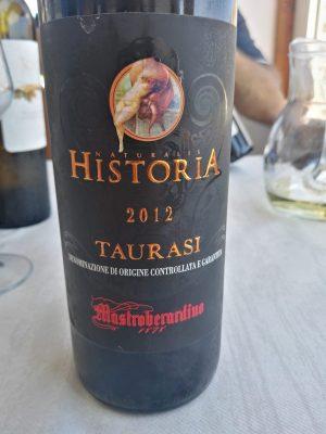 Taurasi Naturalis Historia 2012