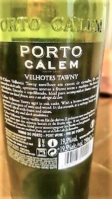 """Porto Tawny """"Velhotes"""" – Calem"""