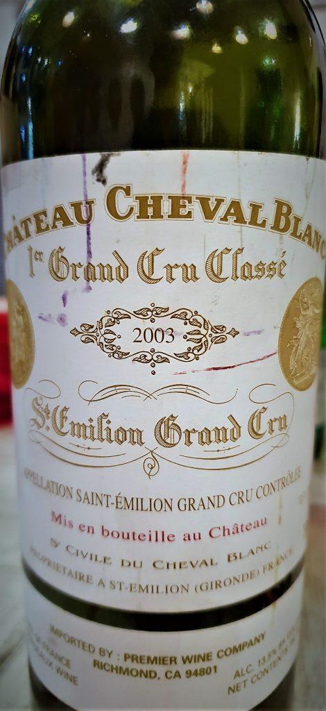 Château Cheval Blanc 2003