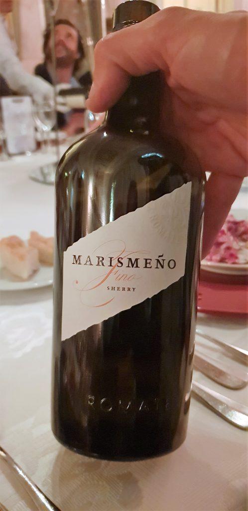 Sherry Romate fino Marismeno riserva speciale,
