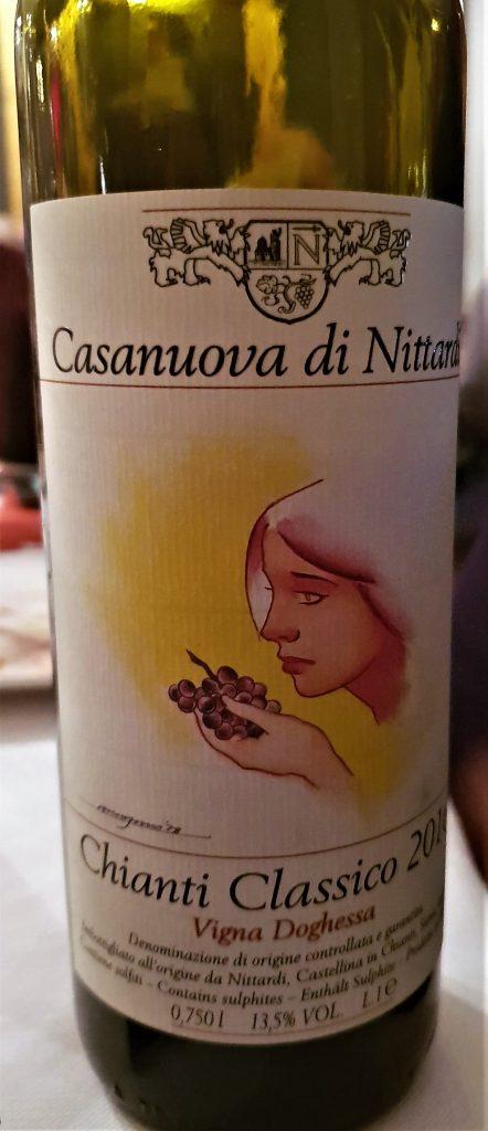 Chianti Classico DOCG - Casanova di Nittardi 2016 - Vigna Doghessa
