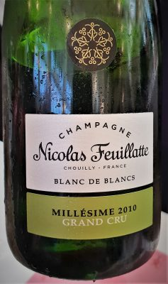 Champagne Nicolas Feuillatte Blanc de Blanc 2010.