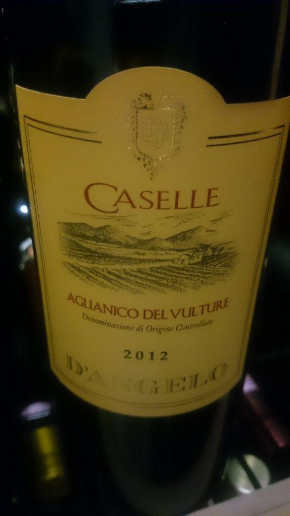 Caselle - Aglianico del Vulture Riserva 2012