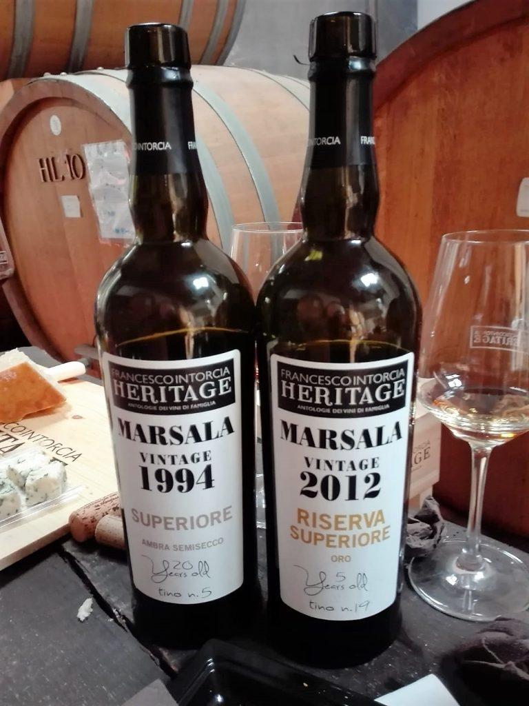 Marsala Superiore Ambra Semisecco 1994