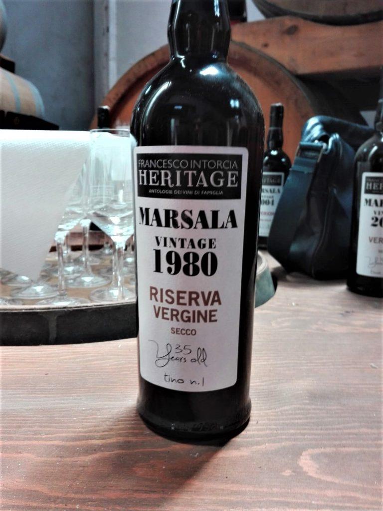 Marsala Riserva Vergine 1980