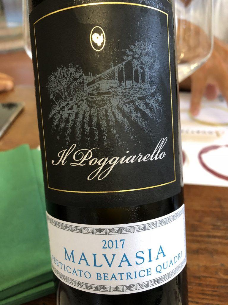 Emilia IGT Malvasia 2017 Perticato Beatrice Quadri