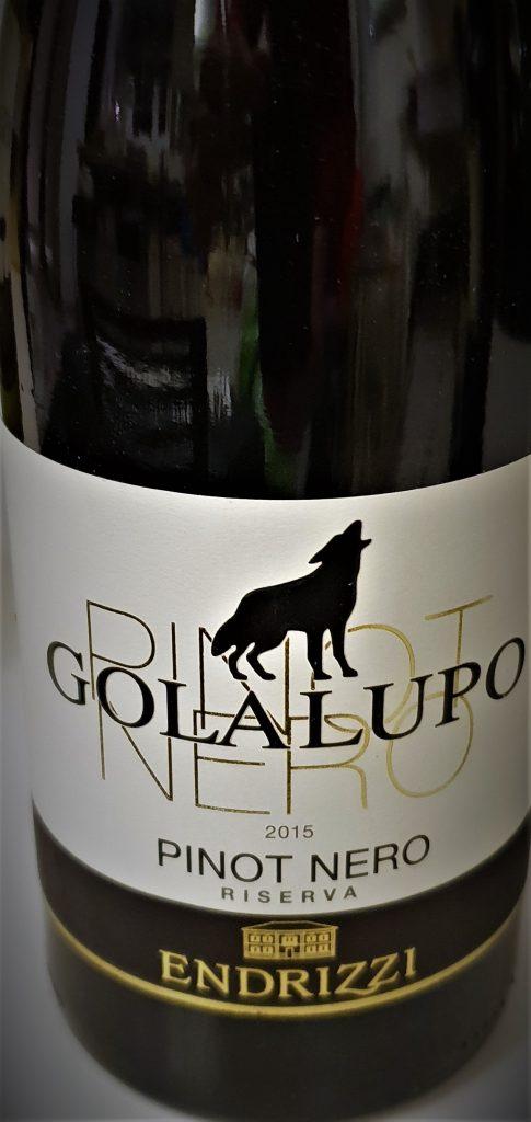 Golalupo Pinot Nero Riserva 2015