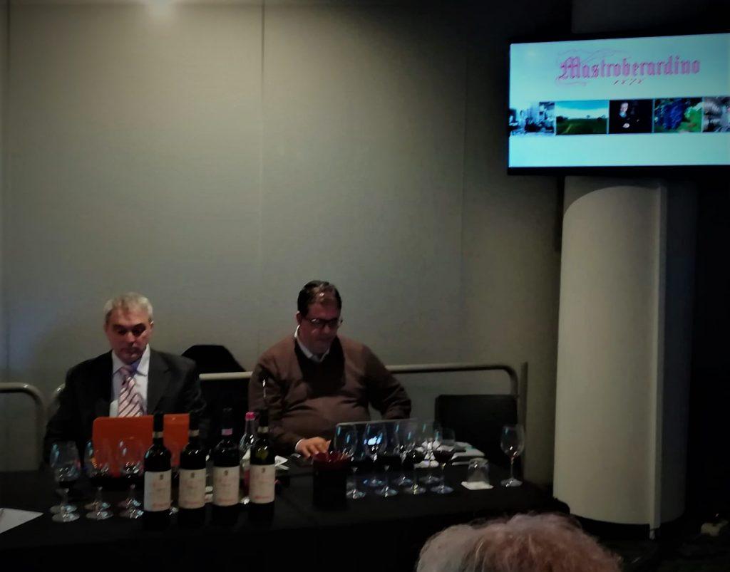 Da sinistra Massimo Di Renzo e Luciano Pignataro