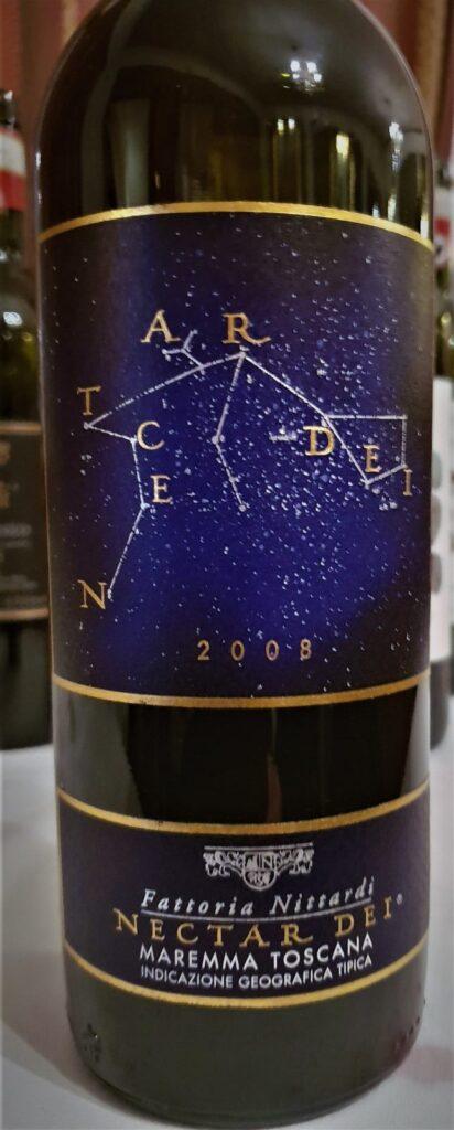Toscana IGT -Nectar Dei 2008