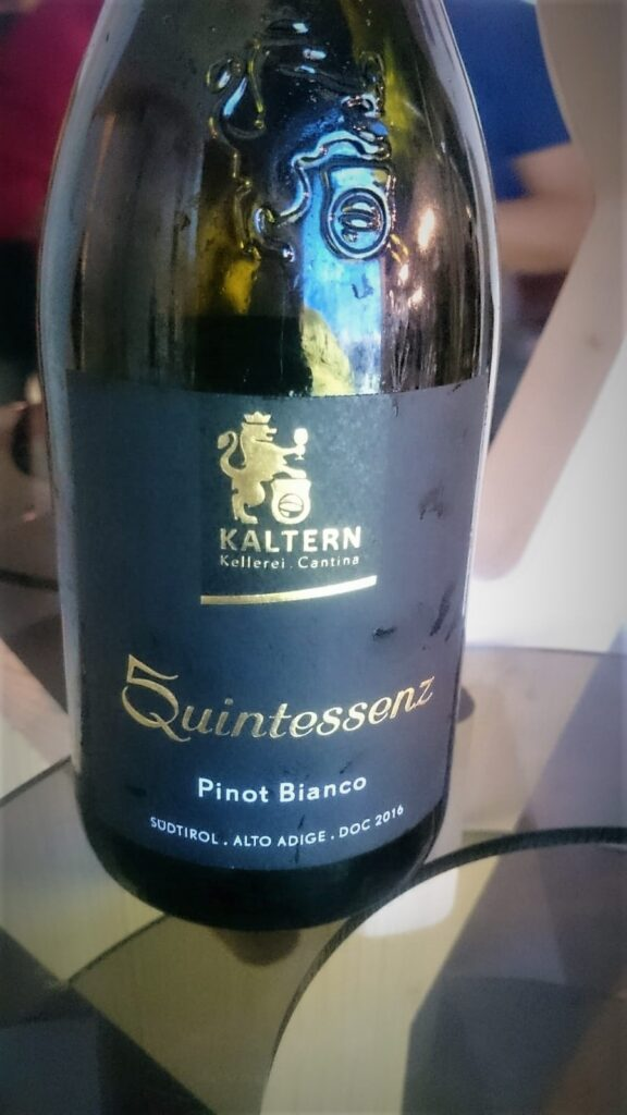 "Pinot Bianco DOC ""Quintessenz""2016"
