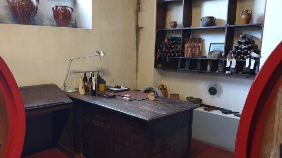 La scrivania del Dottor Franco