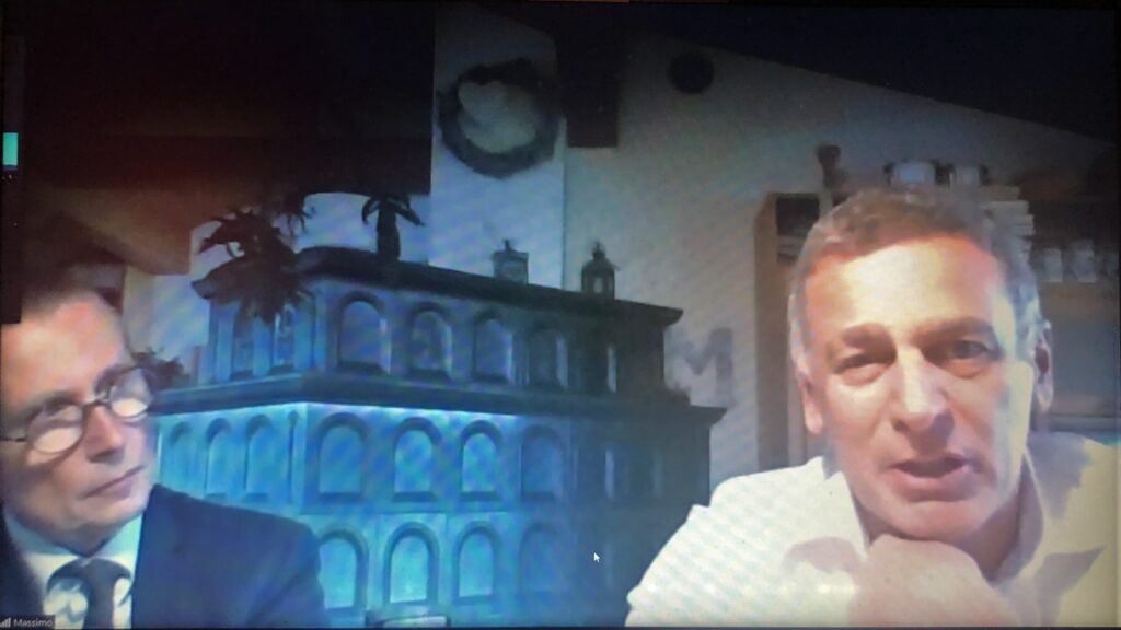 Valperto Degli Azzoni e Massimo Azzolini
